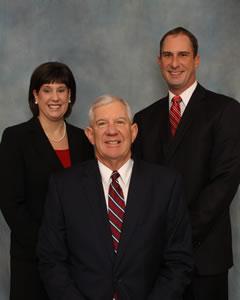 Photo of Jennifer Bauer Eroh, John Bauer Jr. and their father Jack Bauer