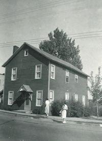 photo of the original Rimersburg funeral home