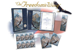 photo of Custom Printing and Memory Books with 'On Freedom's Wing' Design